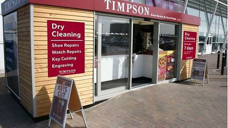 What Timpson kiosk would look like outside Bury's Tesco. Picture: TESCO STORES LTD/PEOPLE & SPACE LT