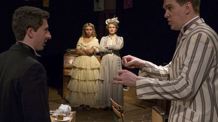 The Importance of Being Earnest by Oscar Wilde, staged by red Rose Chain at The Avenue Theatre, Ipsw