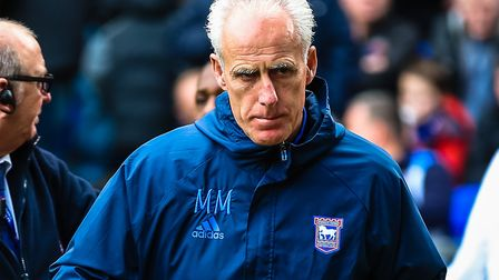 Ipswich Town manager, Mick McCarthy