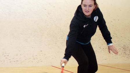 Emily Ison is among the players competing in the first all-female PSA (Professional Squash Associati