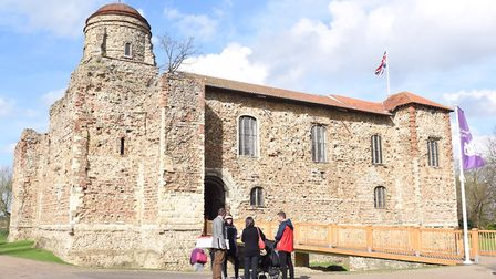 Colchester Castle is taking part in the Essex Big Weekend. Photo: SARAH LUCY BROWN
