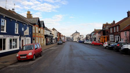 Aldeburgh High Street, where the average rateable increase is 47.5%. Picture: SIMON PARKER