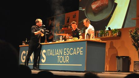 He will be sharing recipes from his beloved Italy. Photo: Contributed