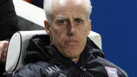 Ipswich Town manager Mick McCarthy. Photo: PA