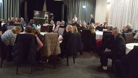 The Harwich & Dovercourt Tourism Group meeting at The Waterfront in Harwich.