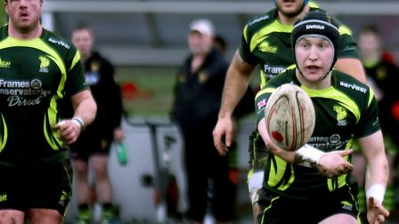 Will Affleck, who will come in at fly-half for Bury St Edmunds, following Glyn Hughes' departure. Pi