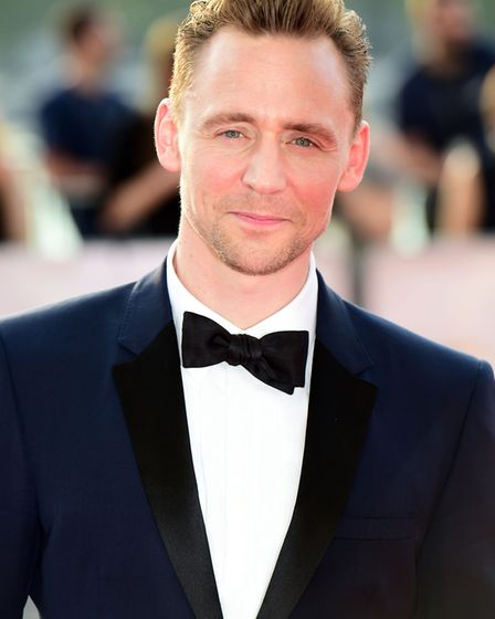 Actor Tom Hiddleston is one of several celebrities who have been spotted in the queue at Aldeburgh F
