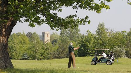 The golf course at Ufford Park . Picture: Paul Nixon Photography