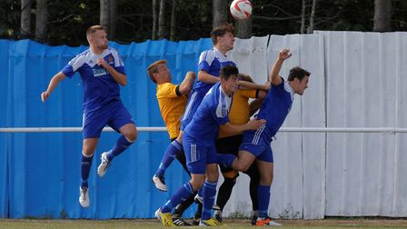 Ipswich Wanderers (blue shirts) have been in good form recently
