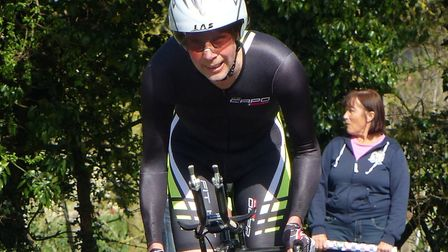Organiser and course record-breaker Verity Smith at the Stowmarket Hilly 20
