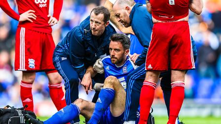 Cole Skuse suffered concussion in Saturday's 1-1 home draw with Birmingham and has been ruled out of