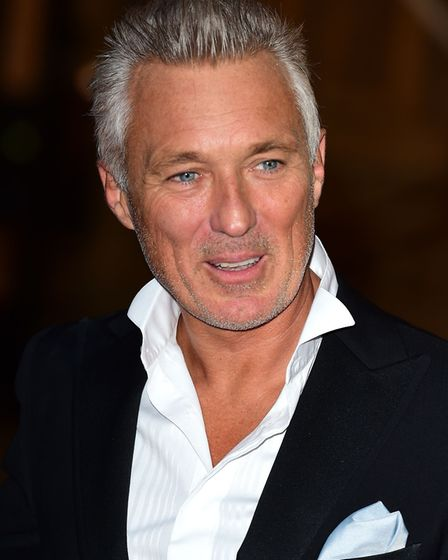 Spandau Ballet's Martin Kemp, who will star in Million Dollar Quartet when it comes to the Ipswich R