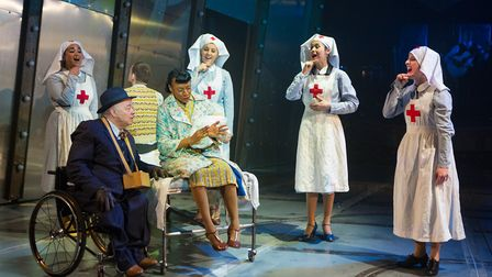 Natasha Lewis, Garry Robson, Donna Mullings, Stacey Ghent, Becky Barry and Amelia Cavallo in Tommy a