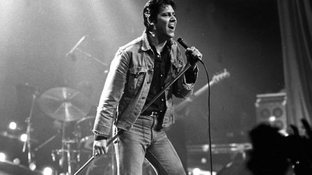 Shakin' Stevens during a previous visit to Ipswich in 1982. Photo: Archant archive