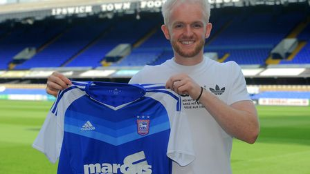Jonny Williams has been impressing in training for Ipswich Town.
