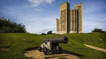 Orford Castle - part of Suffolk's rich and fascinating history
