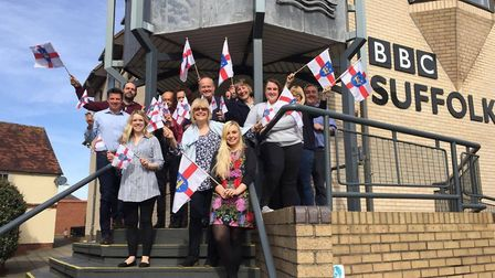 BBC Radio Suffolk presenter Mark Murphy and his colleagues are set to celebrate the first ever Suffo