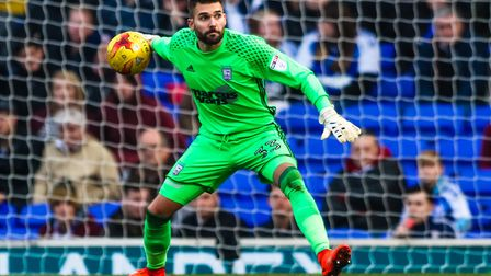 Ipswich Town keeper Bartosz Bialkowski was part of a 'great escape' with Notts County in League One.