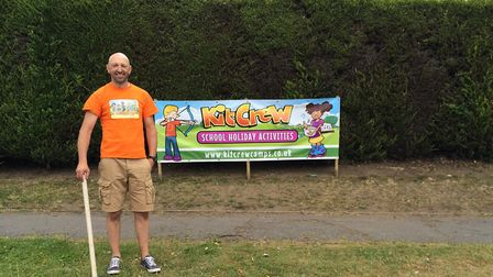David Kitt, a director of children's activities company KitCrew Camps, who will be among the speaker