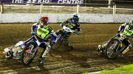Rory Schlein leads at Foxhall, but he and his team-mates had a torrid night at Sheffield