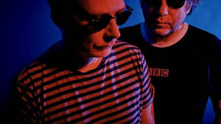 The Jesus and Mary Chain, playing Cambridge. Photo: Steve Gullick