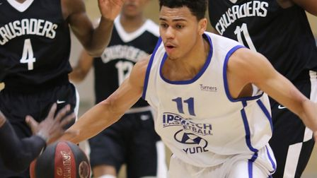 Caleb Fuller led Ipswich with 22 points in the play-off semi-final