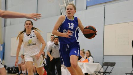 England star Esther Little led Ipswich with 26 points
