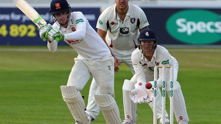 Dan Lawrence scored a superb 141 to rescue the game for Essex