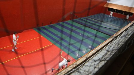 The World Real Tennis Doubles Championships will be held at Prested Hall in Colchester.