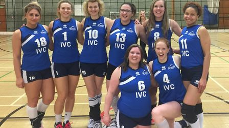 Ipswich's women finished their season with a victory.