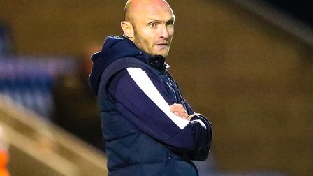 Wayne Brown, whose Colchester United Under-23' side went down 2-0 at the hands of Portsmouth tonight