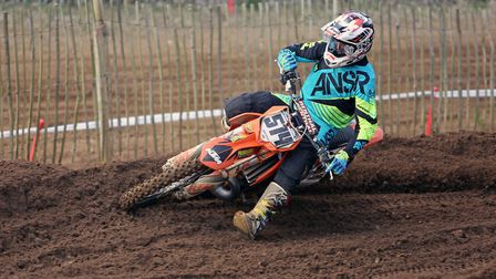 Liam Walker, who won the NGR at Blaxhall