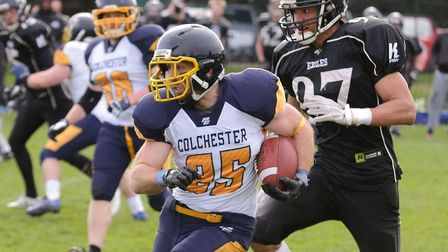 Colchester Gladiators in action last season. Their new campaign commences on Sunday
