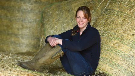 Women in farming feature - Verity Sharp at her new farm near Halstead. Picture: GREGG BROWN