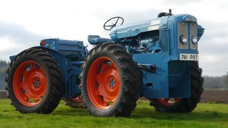 A 1963 Matbro Mastiff which was sold at auction by Cheffins for £86,100, more than double its guide