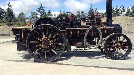 Horsa, one of a pair of 1918 John Fowler ploughing engines (Horsa and Hengist) which sold for £147,0