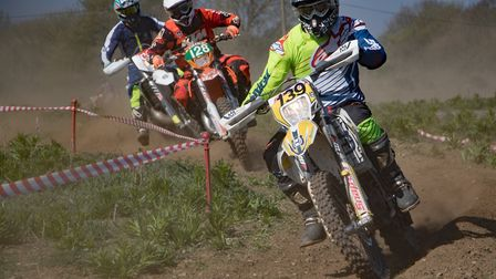 Action from the event at Sudbury