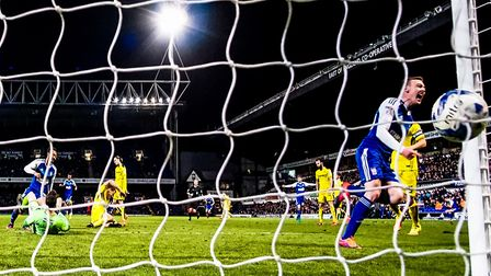 The moment Freddie Sears ended his goalscoring drought, in a 2-0 Ipswich win, against Burton Albion