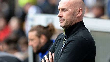 U's boss John McGreal, watching his side lose 3-1 at Notts County from two weeks ago. But the U's te