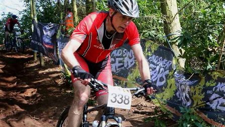 Paul Watson (West Suffolk Wheelers) - gaining places at the end at Henham