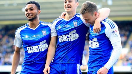 Grant Ward, Tom Lawrence, and Freddie Sears are all smiles after today's magnificent 3-1 home win ov