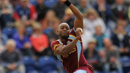 West Indies bowler, Tino Best, has signed for Mildenhall.