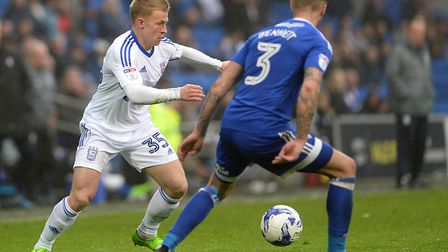 Ipswich Town signed winger Danny Rowe for �100k from Macclesfield in january. Photo: PAGEPIX