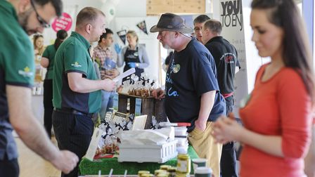 Local suppliers showcased their best food and drink as Morrisons searches for the nation�s best loca
