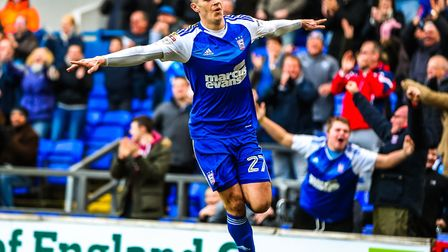 Tom Lawrence is Ipswich Town's topscorer with 11 goals in all competitions. Picture: Steve Waller