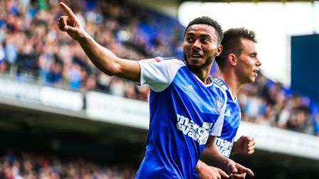 Grant Ward, who admits he is really enjoying his central role for Ipswich Town at the minute. Pic