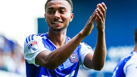 Grant Ward has featured in 44 games for Ipswich Town during his debut season at the club. Photo: Ste