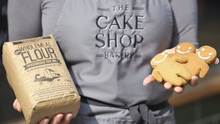 The Cake Shop Bakery uses flour from Woodbridge Tide Mill. Picture: Su Anderson