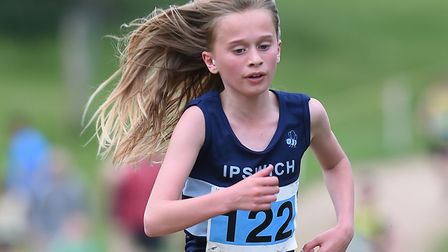 Tilly Aldis, who finished fourth in her age group at the London Mini-Marathon last weekend. Picture: