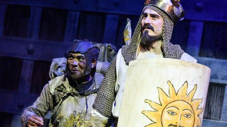 Dale Superville & Bob Harms in Spamalot at the Colchester Mercury.. Picture: ROBERT DAY
